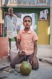 印第安男孩 免版税库存照片