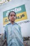 印第安男孩 库存照片
