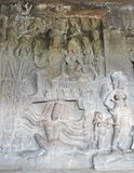 印第安石艺术 免版税库存照片