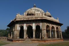 印第安纪念碑 库存照片