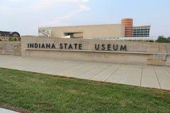 印第安纳印第安纳波利斯博物馆状态 免版税库存照片