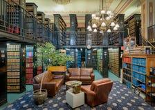印第安纳法律图书馆 免版税库存照片
