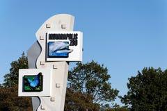 印第安纳波利斯动物园 免版税库存图片