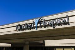 印第安纳波利斯-大约2016年10月:亲属的医院,亲属的医疗保健分裂合并了III 库存照片