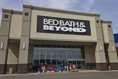 印第安纳波利斯-大约2016年6月:Bed Bath & Beyond零售地点我 免版税库存图片