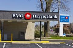 印第安纳波利斯-大约2016年4月:BMO哈里斯银行II 库存图片