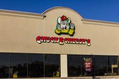 印第安纳波利斯-大约2016年11月:Chuck E 乳酪薄饼和娱乐餐馆II 库存照片