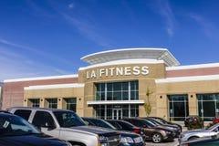 印第安纳波利斯-大约2016年11月:LA健身健身俱乐部 LA健身是一个私有的健康链子III 库存图片