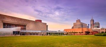 印第安纳状态博物馆 免版税图库摄影