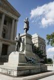 印第安纳纪念品州议会议场 库存图片