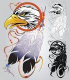 印第安纹身花刺 免版税库存照片