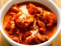 印第安羊肉咖喱 免版税库存照片