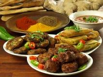 印第安膳食 图库摄影