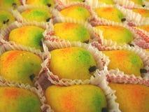 印第安芒果甜点 免版税图库摄影