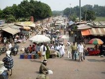 印第安街道 免版税图库摄影