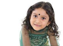 印第安语的女孩一点 免版税图库摄影