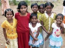 印第安语的女孩 库存图片