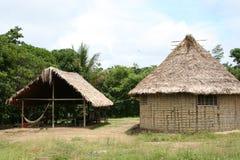 印第安语的小屋 库存图片