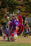 印第安语的舞蹈演员 库存照片