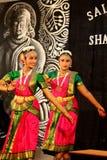 印第安语的舞蹈演员 免版税图库摄影