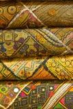 印第安语的织品 库存图片