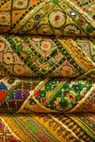 印第安语的织品 免版税库存照片