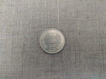 印第安货币 库存图片