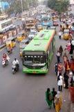 印第安运输公共汽车运输 免版税库存照片