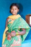印第安部族妇女年轻人 免版税库存照片
