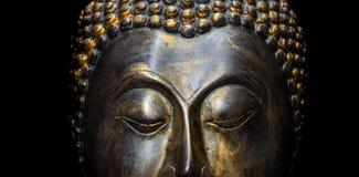印第安雕象 库存图片