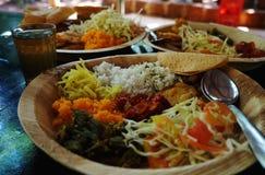 印第安食物 免版税图库摄影