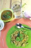 印第安食物 库存图片