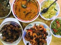 印第安食物 图库摄影