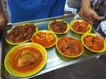 印第安食物 库存照片