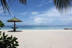 印第安马尔代夫海洋 库存照片