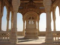 印第安高尚的坟茔 库存照片