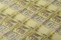印第安货币 库存照片