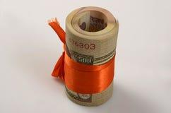 印第安货币 图库摄影