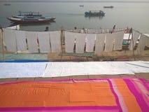 印第安洗衣店 免版税库存照片