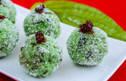 印第安ladoo甜点 免版税库存照片