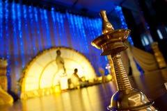 印第安Malayalee婚礼 免版税库存照片