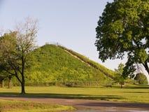 印第安miamisburg土墩 免版税库存照片