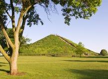 印第安miamisburg土墩 免版税图库摄影