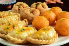 印第安mithai甜点 免版税图库摄影