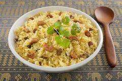 印第安pillau米 免版税库存图片