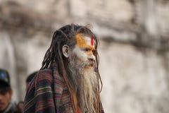 印第安sadhu 免版税库存图片