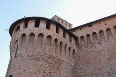 印象深刻的古老堡垒在维尼奥拉 图库摄影