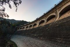印象深刻的水坝 库存照片