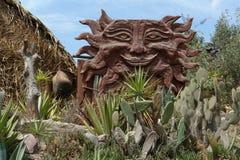 印锑秘鲁一基本货币单位博物馆南sitio 免版税库存图片