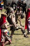印锑秘鲁货币单位Raymi节日库斯科秘鲁南美 图库摄影